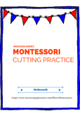 MONTESSORI INSPIRED CUTTING PRACTICE