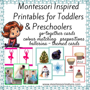 MONTESSORI INSPIRED PRINTABLES FOR TODDLERS AND PRESCHOOLERS