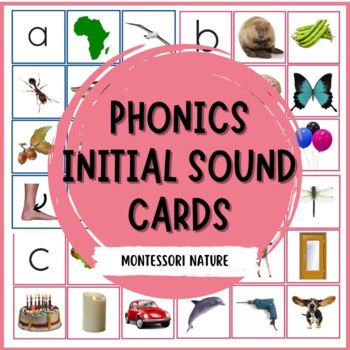 MONTESSORI PHONICS INITIAL SOUND CARDS