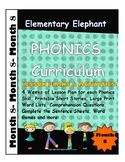 MONTH 8--Elementary Elephant PHONICS Curriculum-Interventi