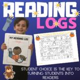 MONTHLY READING LOGS - CORONAVIRUS DISTANCE LEARNING