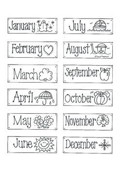 MONTHS! 'Labels'