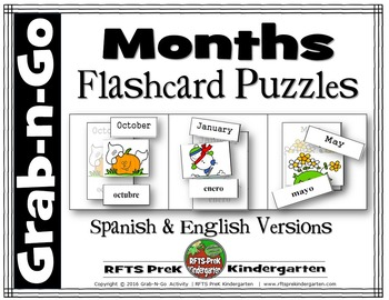 MONTHS LEARNING PUZZLES (Grab-n-Go $1 Deal)