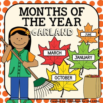 MONTHS OF THE YEAR GARLAND