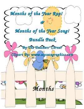 Months of the Year Rap! & Months of the Year Song! Bundle Pack
