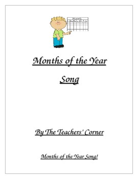 Months of the Year Song!
