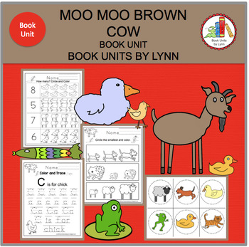MOO MOO BROWN COW  BOOK UNIT