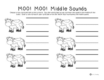 MOO! MOO! Middle Sounds