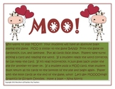 MOO!!  Valentine Sight Word Game