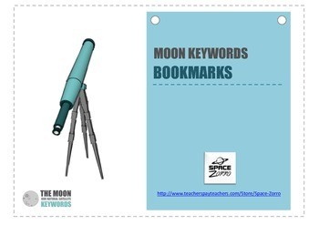 MOON KEYWORDS bookmarks