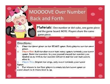 MOOOOVE Over Number Back and Forth