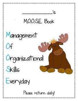 M.O.O.S.E. Binder Cover Page