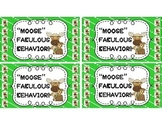 MOOSE Fabulous Behavior Punch cards