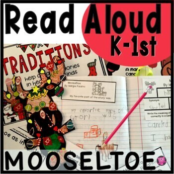 Mooseltoe Close Read Lesson Plans and Activities for December