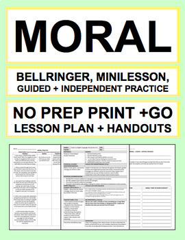 MORAL LESSON