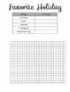 MORE Bar Graph Practice Worksheets
