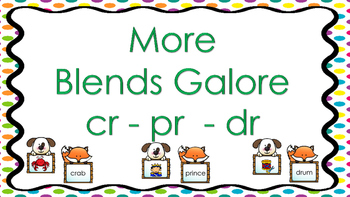 MORE Blends Galore - cr - pr - dr