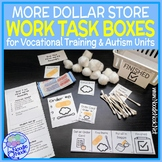 MORE Dollar Store Vocational Work Task Boxes - 21 MORE Act