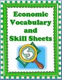 MORE Economics Vocabulary & Activities   NO PREP!