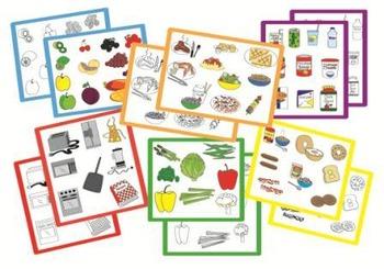 FOOD Clip Art - set #2 - 130 new images!