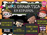 MORE GRAMMAR IN SPANISH