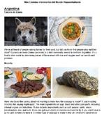 Sub packet MORE Interesting Foods Spanish-speaking World f