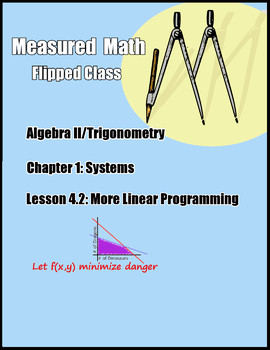 MORE Linear Programming Examples and Problems - Alg II/Trig Ch1.4.2