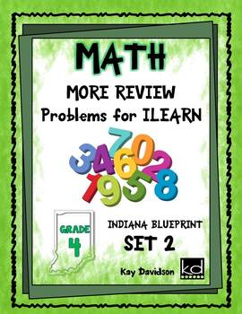 MORE Math Problems for GR 4 ISTEP Review