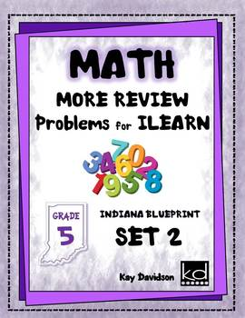 MORE Math Problems for ISTEP Review Grade 5
