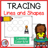 Pre-Writing - Tracing Lines and Shapes