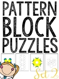 MORE Pattern Blocks Puzzles