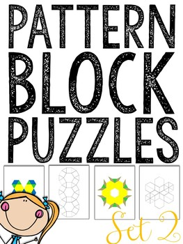 MORE Pattern Blocks Puzzles