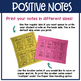 MORE Positive Notes to Send Home