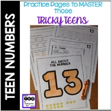 MORE Teen Number Practice