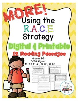 MORE! Using the RACE Strategy: Reading Passages