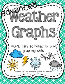 MORE Weather Graphs [more daily activities] FULL COLOR edition