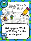 MORE Work on Writing Centers