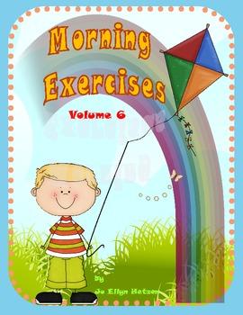 MORNING EXERCISES - Daily Morning Work { VOLUME 6 }