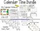 MORNING WORK Calendar Time Worksheets - February 2018