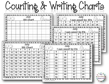 MORNING WORK Calendar Time Worksheets - July - Common Core
