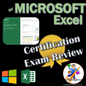 MOS Excel 2016 Certification Exam Review Prep