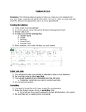 MOS Excel Practice Assignment