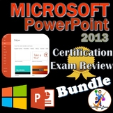 Review Bundle for MOS Microsoft PowerPoint 2013 Certification Exam - 6 Preps