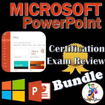 MOS Microsoft PowerPoint 2016 Certification Exam Review