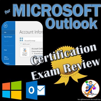 MOS Outlook 2016 Certification Exam Review Prep