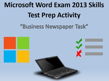 MOS Microsoft Word 2013 Certification Exam Review 1