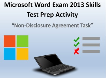 Certification Exam Review 2 for MOS Microsoft Word 2013