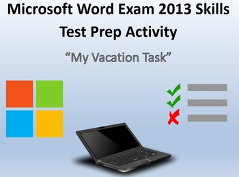 Certification Exam Review 4 for MOS Microsoft Word 2013