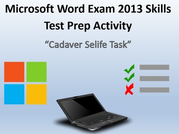 Certification Exam Review 6 for MOS Microsoft Word 2013