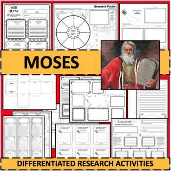 MOSES Biographical Biography Research Activities DIFFERENTIATED!